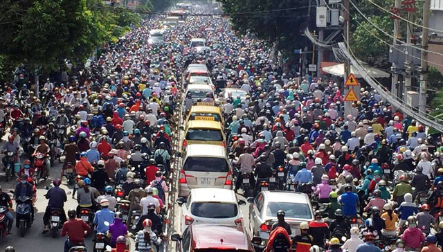 giải pháp chống kẹt xe mới