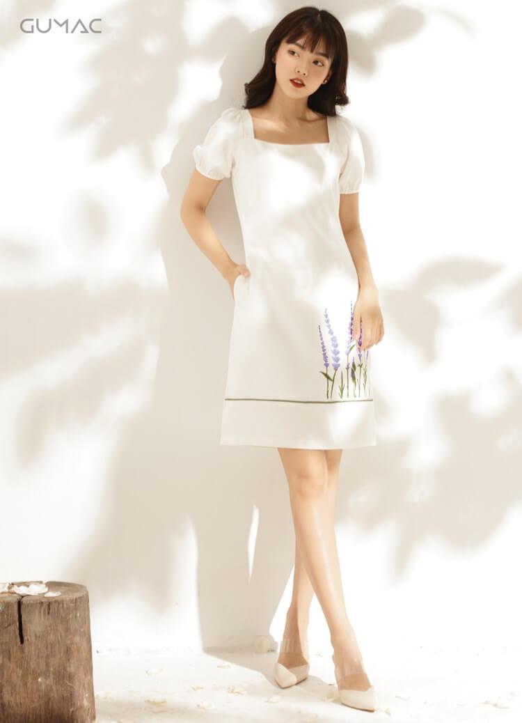 váy suông phù hợp với vóc dáng