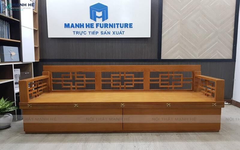 Sản phẩm sofa giường gỗ đa năng của Sofamanhhe.com đang rất được khách hàng tin dùng.Sản phẩm sofa giường gỗ đa năng của Sofamanhhe.com đang rất được khách hàng tin dùng.